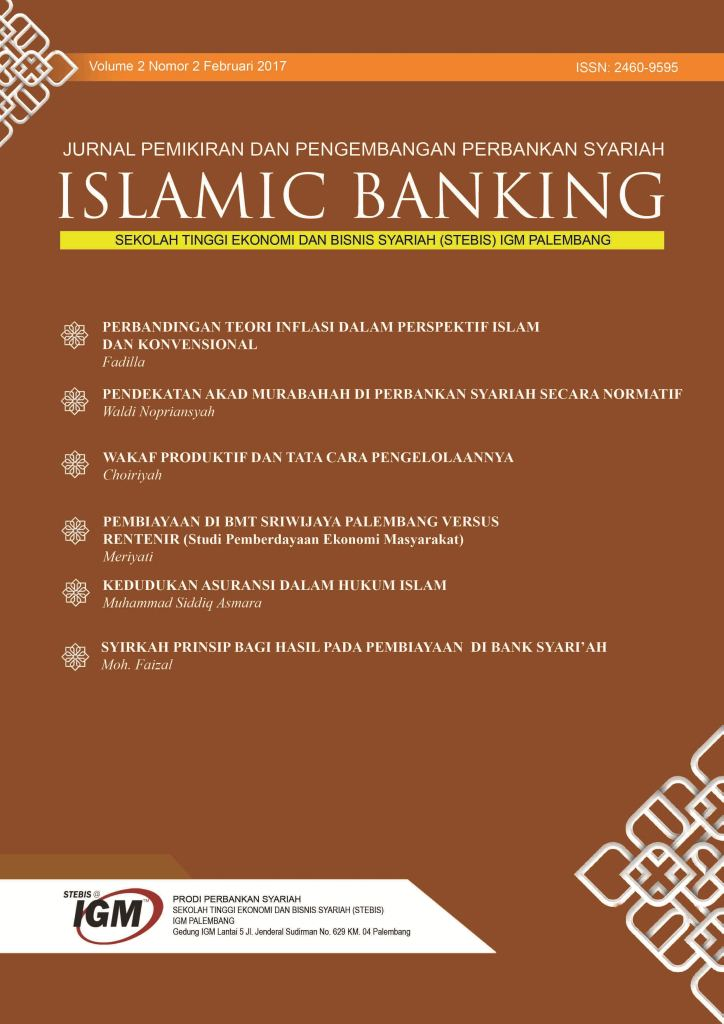 Jurnal Islamic Banking